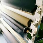 100% Antistatic polyester fabric with conductive yarn