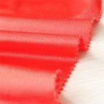 polyester tricot dazzle sportswear fabric