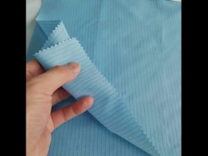 100% polyester electrically conductive carbon fiber fabric