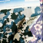 1000D nylon cordura water resistant camouflage fabric