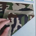 Camouflage pattern 80/20 cotton polyester twill fabric for military uniform