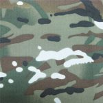 teflon 100% polyester woven waterproof outdoor military camouflage rain jacket fabric