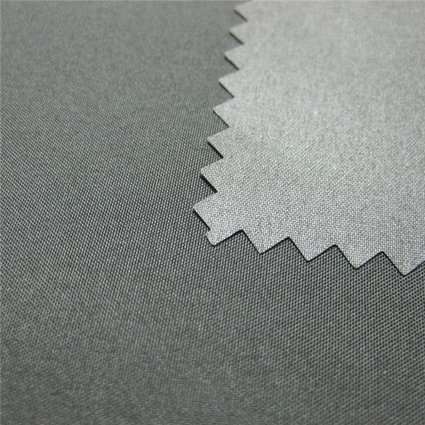 100% Polyester Pongee Coated Waterproof Outdoor Down Jacket Fabric
