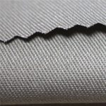 350gsm cotton flame retardant satin fabric workwear material EN11612 FR fabric for coverall