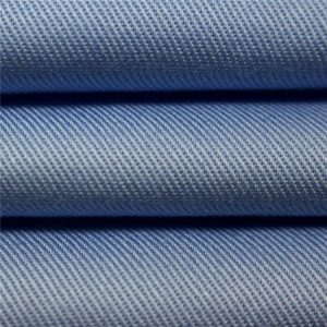 100% cotton twill carded dyed fabric uniform workwear garments fabric