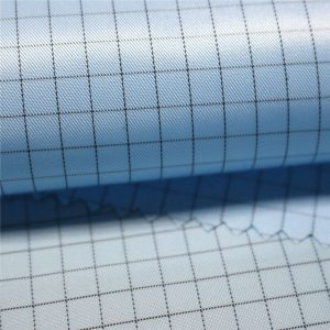 5mm stripe twill polyester antistatic woven fabric for antistatic garments
