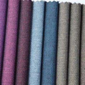 wholesale polyester two-tone color oxford fabric for bag material