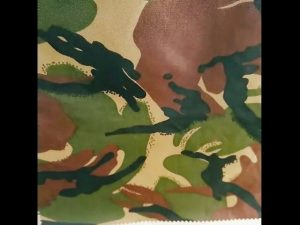 camouflage printed waterproof ripstop nylon oxford uniform military fabric