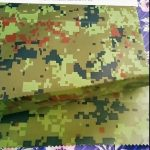 china manufacturer wholesale camouflage embossed rainwear geotextile fabric for outdoor fabric