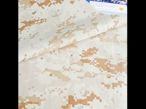 good quality camouflage pattern 100% nylon fabric military use safety